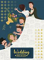 婚礼新人海报