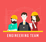 工程团队人物