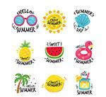 夏季旅行标签