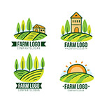绿色农场标志