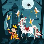 童话王子和白马