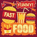 快餐食品海报