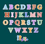 26款可爱字母