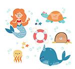 美人鱼和海洋
