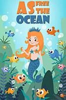 海底美人鱼和鱼群