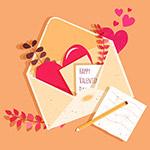 情人节情书爱心