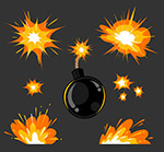 炸弹爆炸效果