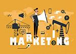 市场营销男子