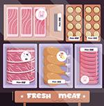 新鲜盒装肉制品