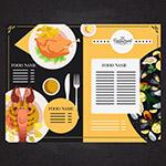 海鲜菜肴餐馆菜单