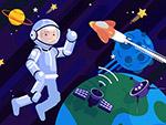 太空中的宇航员