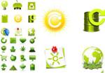 环保生活图标