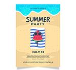 夏季派对传单