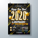2020新年派对海报