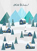 冬季郊外风景