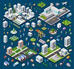 城市建筑与人群