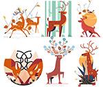 创意鹿设计矢量