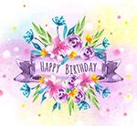 生日快乐花卉
