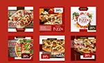 披萨促销传单