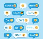 表情语言气泡