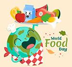 可爱世界粮食日