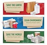 纸张垃圾回收