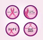 乳腺癌防治月标签
