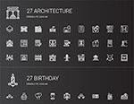 建筑与家具图标