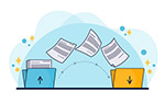 文件传输概念图