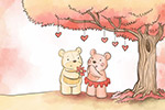 树下情侣熊