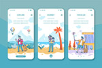 手机旅行网页