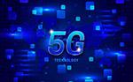 蓝色5G技术海报