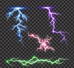 彩色闪电设计