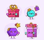 可爱表情礼盒