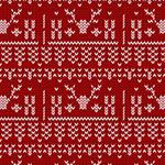 圣诞针织图案背景