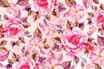 粉色花卉无缝背景