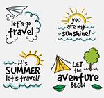 度假旅游图标