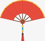 国潮中国风扇子
