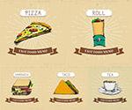 披萨三明治快餐