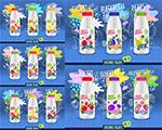 酸奶瓶包装图案
