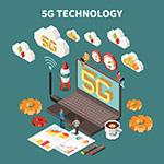 5G技术创意矢量
