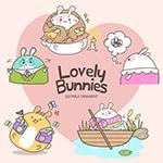可爱的小兔子米苏