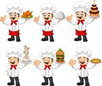 卡通搞笑厨师