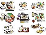 日本料理矢量