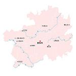 贵州省矢量地图