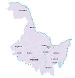 黑龙江省矢量地图