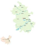 安徽省矢量地图