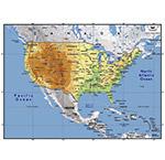 美国地图矢量