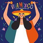 墨西哥独立日插画