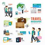 旅游主题元素